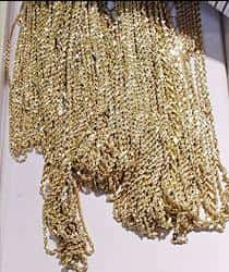 Gold rope chains