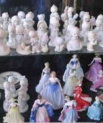Precious Moments and Disney Princess Collectible Figurines